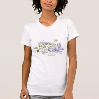 北-ミシガン州の部品の上 Tシャツ