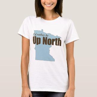 北-ミネソタの上 Tシャツ
