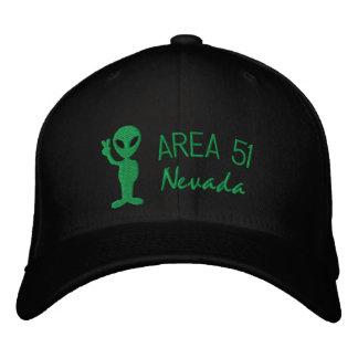 区域51のネバダによって刺繍される帽子 刺繍入りキャップ