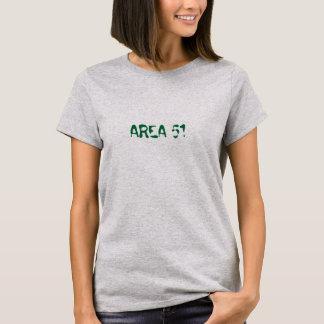 区域51の女性Tシャツのサイファイ Tシャツ