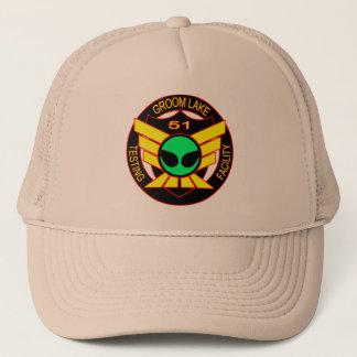 区域51の緑の外国の帽子 キャップ