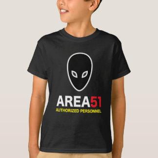 区域51は人員を承認しました Tシャツ