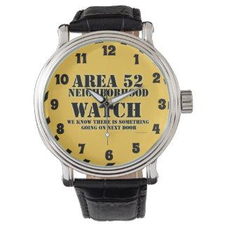 区域52の自警団 腕時計