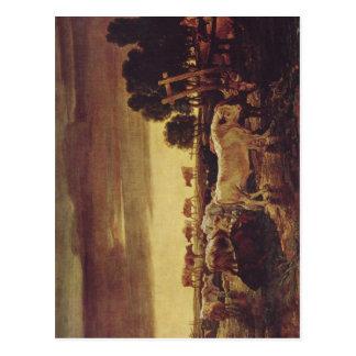 区、ジェームスの理事の公園: Viehherde 1807年のTechniqu ポストカード
