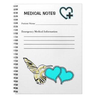 医学のつなぎ ノートブック