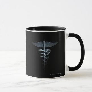 医学のケリュケイオンのスポットライト マグカップ