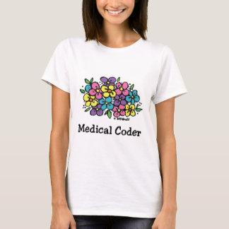医学のコーダーBlooms1 Tシャツ