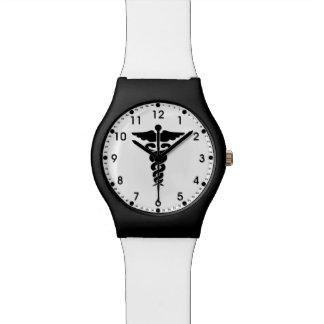 医学のナースおよび医者 腕時計