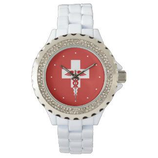 医学のプロフェッショナルの腕時計 腕時計