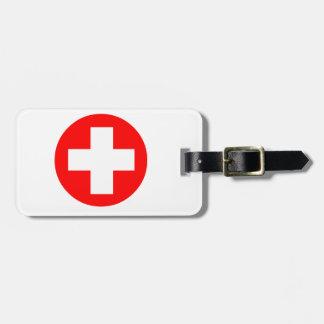 医学の十字 ラゲッジタグ
