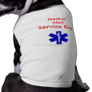 医学の注意深いサービス犬タンク ペット服