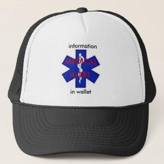 医学の注意深いトラック運転手の帽子 キャップ