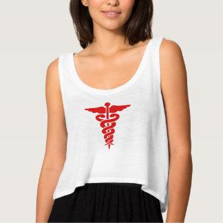 医学の記号のワイシャツ タンクトップ