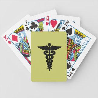医学の記号カード バイスクルトランプ