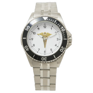 医学の記号 腕時計