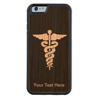 医学の記号 CarvedチェリーiPhone 6バンパーケース