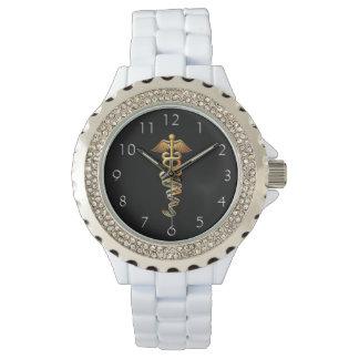 医学の記章 腕時計