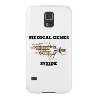 医学の遺伝子の内部(DNAの写し) GALAXY S5 ケース