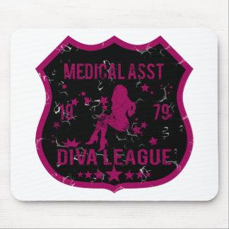 医学のAsstの花型女性歌手リーグ マウスパッド