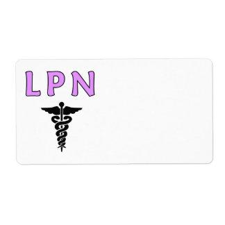 医学ナースLPN ラベル