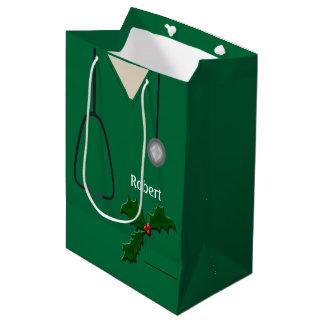 医学緑のヒイラギMGBをごしごし洗います ミディアムペーパーバッグ