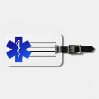 医学EMSの記号 ラゲッジタグ