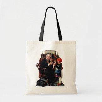 医者および人形 トートバッグ