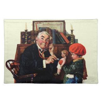 医者および人形 ランチョンマット
