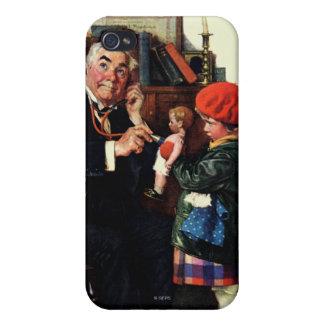医者および人形 iPhone 4/4Sケース