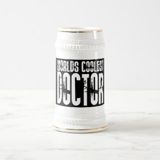 医者のためのクールなギフト: 世界の最もクールな医者 ビールジョッキ