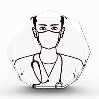 医者のベクトル 表彰盾