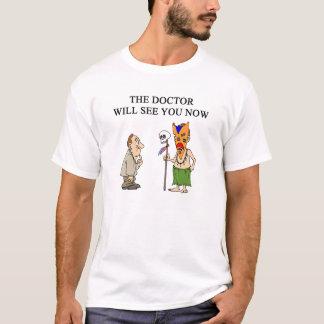 医者の医者のumor tシャツ