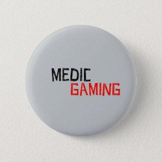 医者の賭博のロゴのバッジ 5.7CM 丸型バッジ