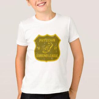 医者の飲むリーグ Tシャツ