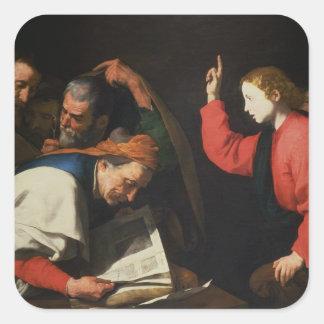 医者間のキリスト、c.1630 スクエアシール
