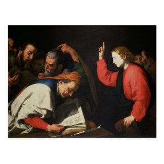 医者間のキリスト、c.1630 ポストカード