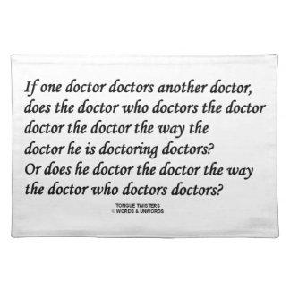 医者(早口言葉) Doctoring Another博士 ランチョンマット