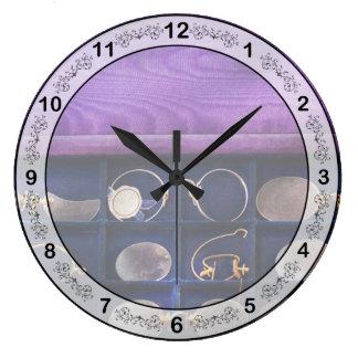 医者-検眼医-から選ぶべき多くのスタイル ラージ壁時計