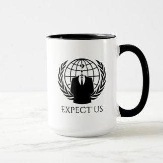 匿名か。 私達を信号器のマグ期待して下さい マグカップ