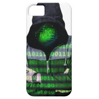 匿名のインターネットのハッカー iPhone SE/5/5s ケース