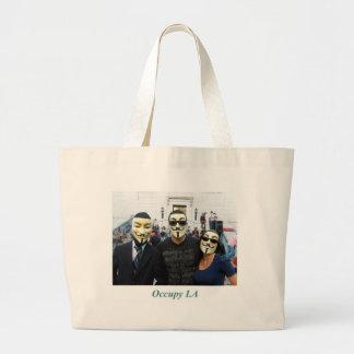 匿名のトリオDay7はLAを占めます ラージトートバッグ