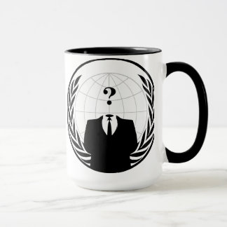 匿名のマグ マグカップ