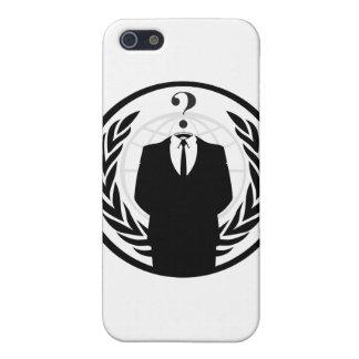 匿名のロゴ(クラシックなスタイル) iPhone 5 ケース