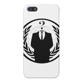 匿名のロゴ(クラシックなスタイル) iPhone SE/5/5sケース