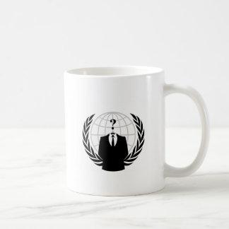 匿名のロゴ コーヒーマグカップ