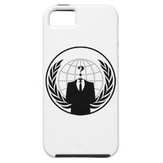 匿名のロゴ iPhone SE/5/5s ケース