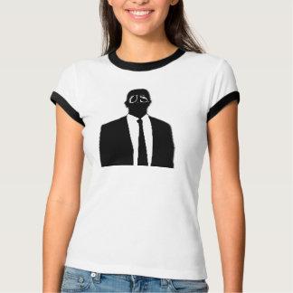 匿名の女性のTシャツ Tシャツ