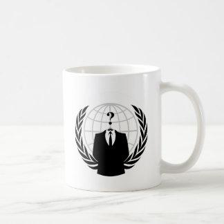 匿名の愛国心 コーヒーマグカップ