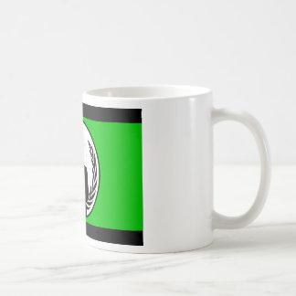 匿名の旗のコーヒー・マグ コーヒーマグカップ