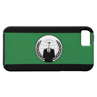 匿名の旗のiPhone 5の場合 iPhone SE/5/5s ケース
